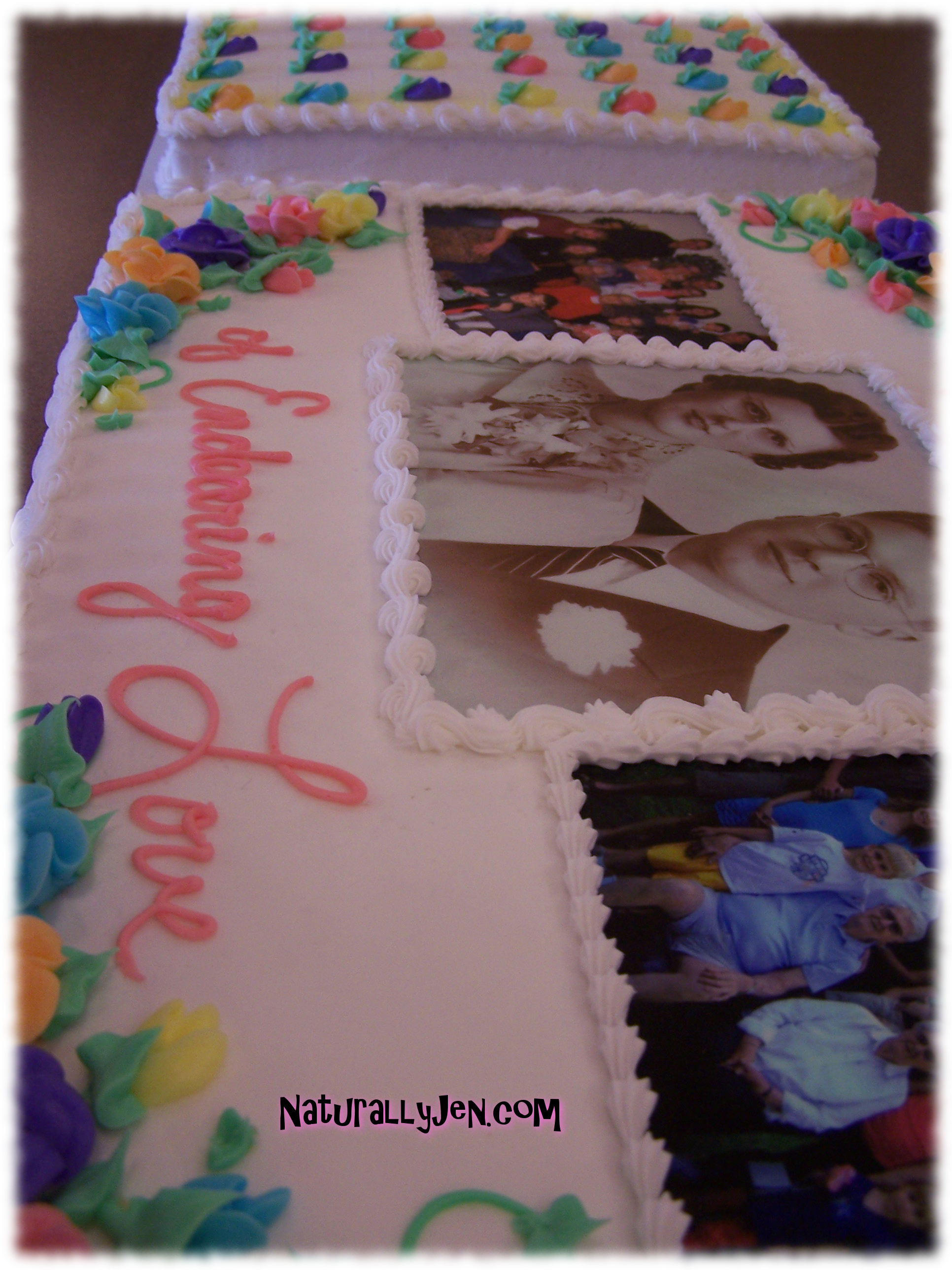 Edible Printed Photographs for Cakes by Naturally Jen