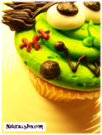 Halloween Cupcake Design Ideas Frankenstiens Monster