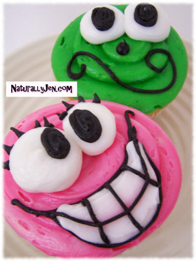 Cupcake Decorating Ideas Smiley Faces : Naturally Jen - Pursuing The Balanced Life: Cup Cakes Page 2