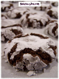 Vegan Brownie Cookies by Naturally Jen