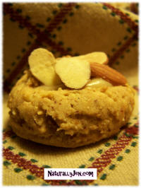 Honey Kissed Almond Cookies