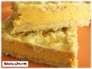 Fall Pumpkin Bars by Naturally Jen