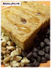 Chocolate Chip Walnut Bars by Naturally Jen