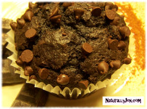 Spicy Chocolate Cupcakes by Naturally Jen